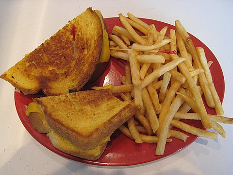 Grilled Cheese to Cry For!!  Photo by mjb2009