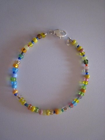 missjunebug's Fab Class Project Bracelet!  Photo by mjb2009